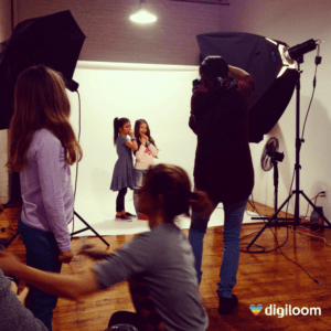 Behind the scene pour le photoshoot de la compagnie Wowwee